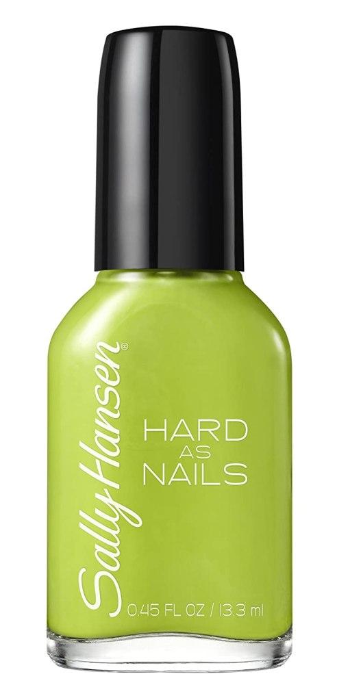 Sally Hansen Limestone nail polish, best nail polish for men