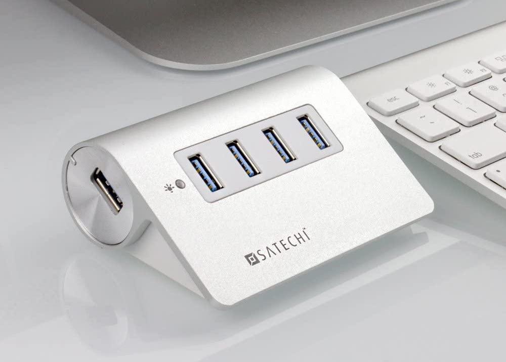 Satechi 4 Port USB Premium Aluminum Hub