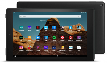 """Fire HD 10 Tablet (10.1"""" 1080p full HD display, 32 GB), Best Tablet for Gaming"""