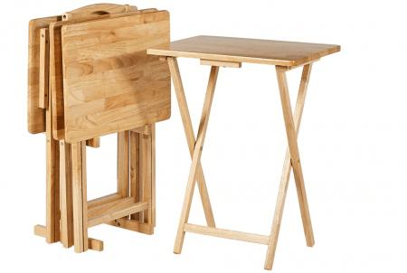 Amazon Basics Classic TV Dinner Folding Trays