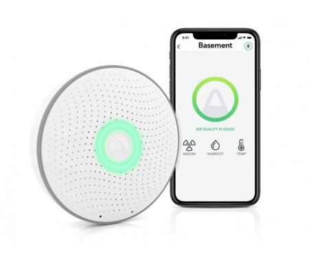 Airthings - 2930 Wave Plus - Radon & Air Quality Monitor