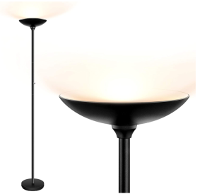 BoostArea LED Torchiere Floor Lamp