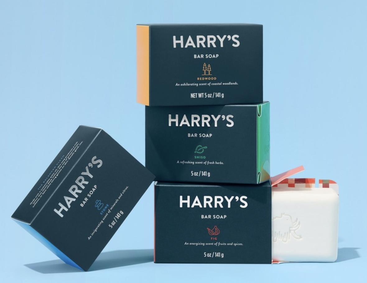 bar soap for men harry's