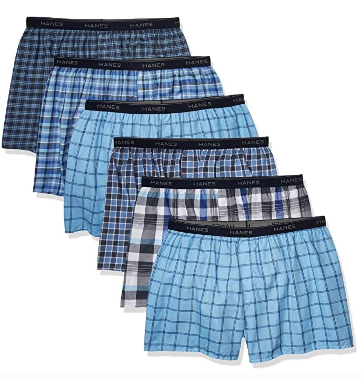 boxers underwear hanes pack