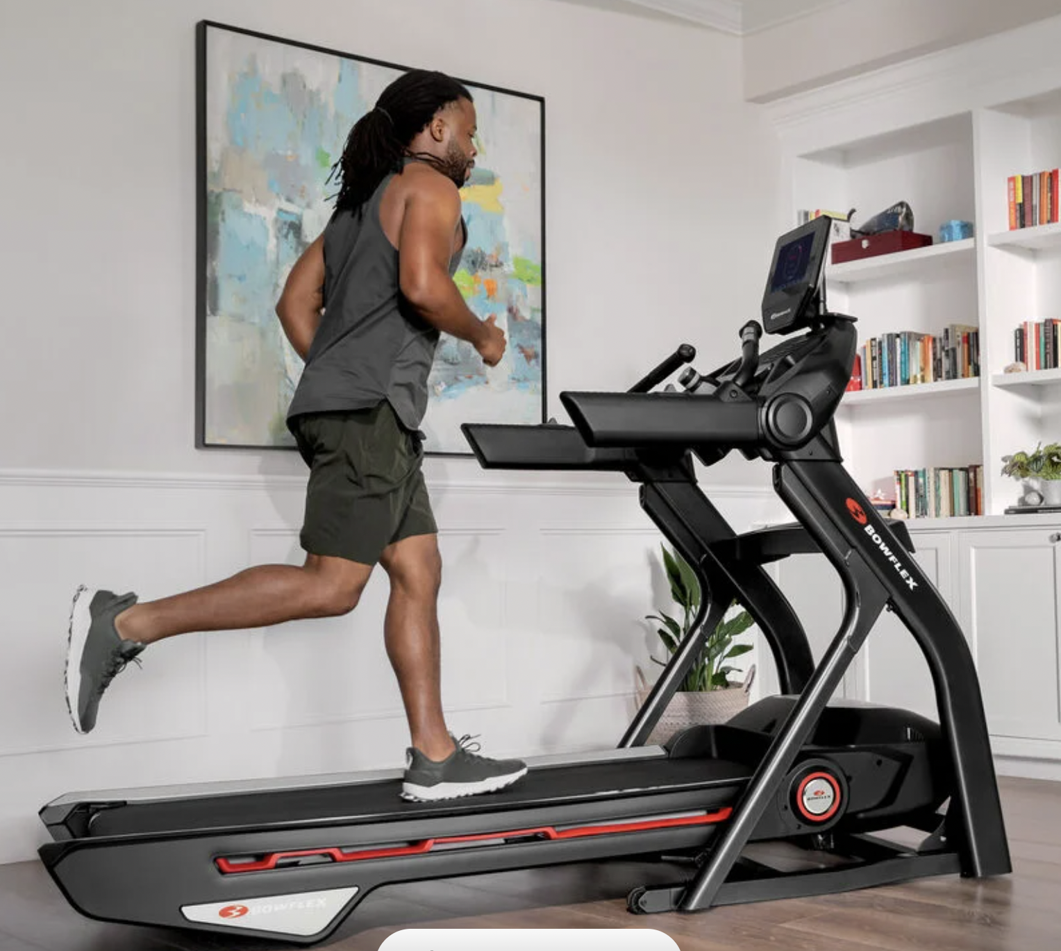 folding treadmill bowflex