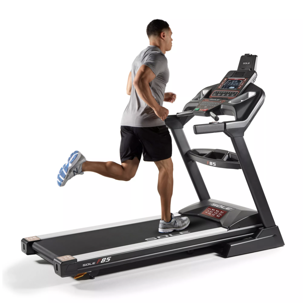 compact treadmill sole folding