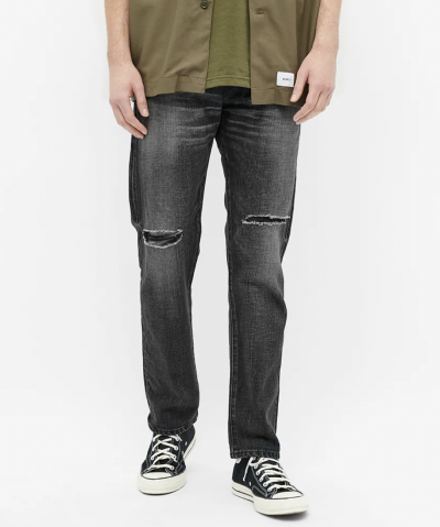 ripped jeans mens selvedge