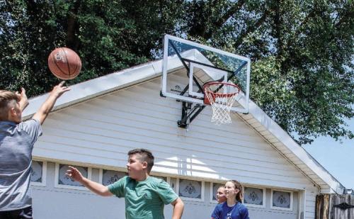 basketball wall mounted silverback