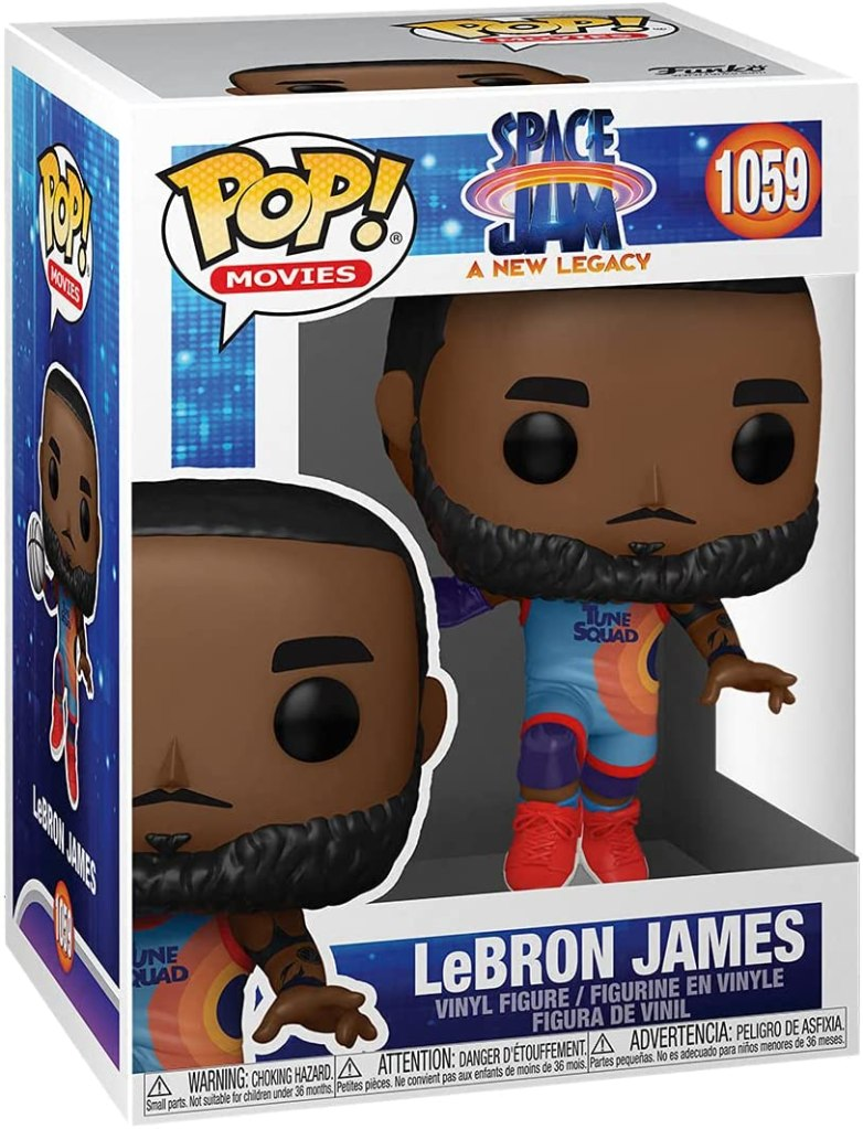 LeBron James Space Jam Funko Pop