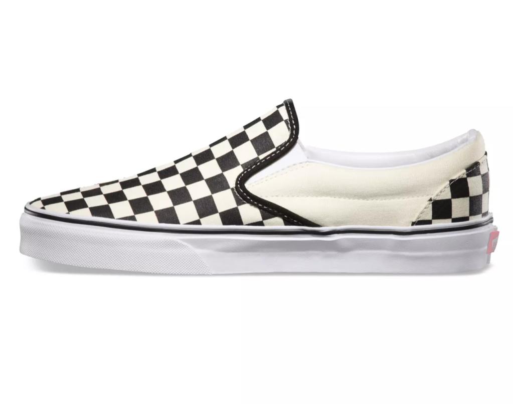 vans checkerboard slip-on-best festival shoes