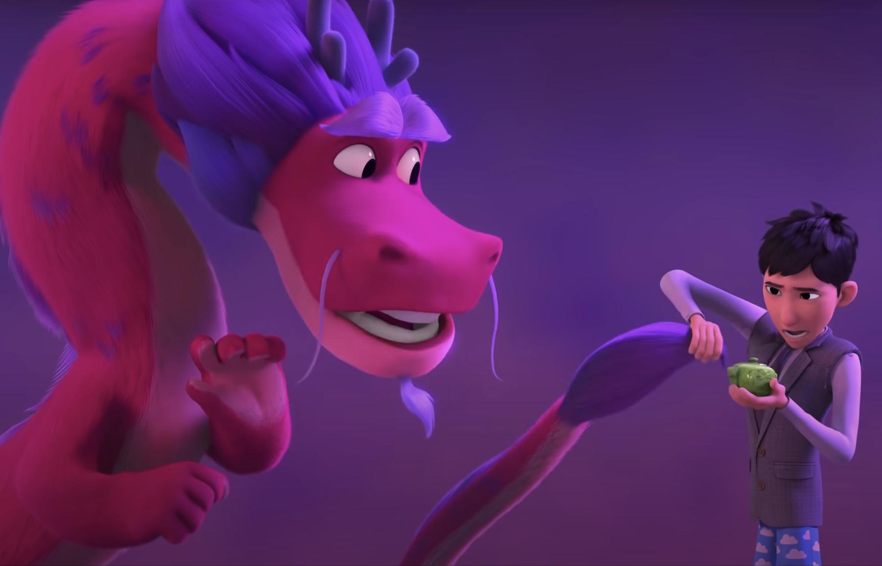 John Cho, Constance Wu Voice Animated 'Wish Dragon': Watch trailer - Rolling Stone