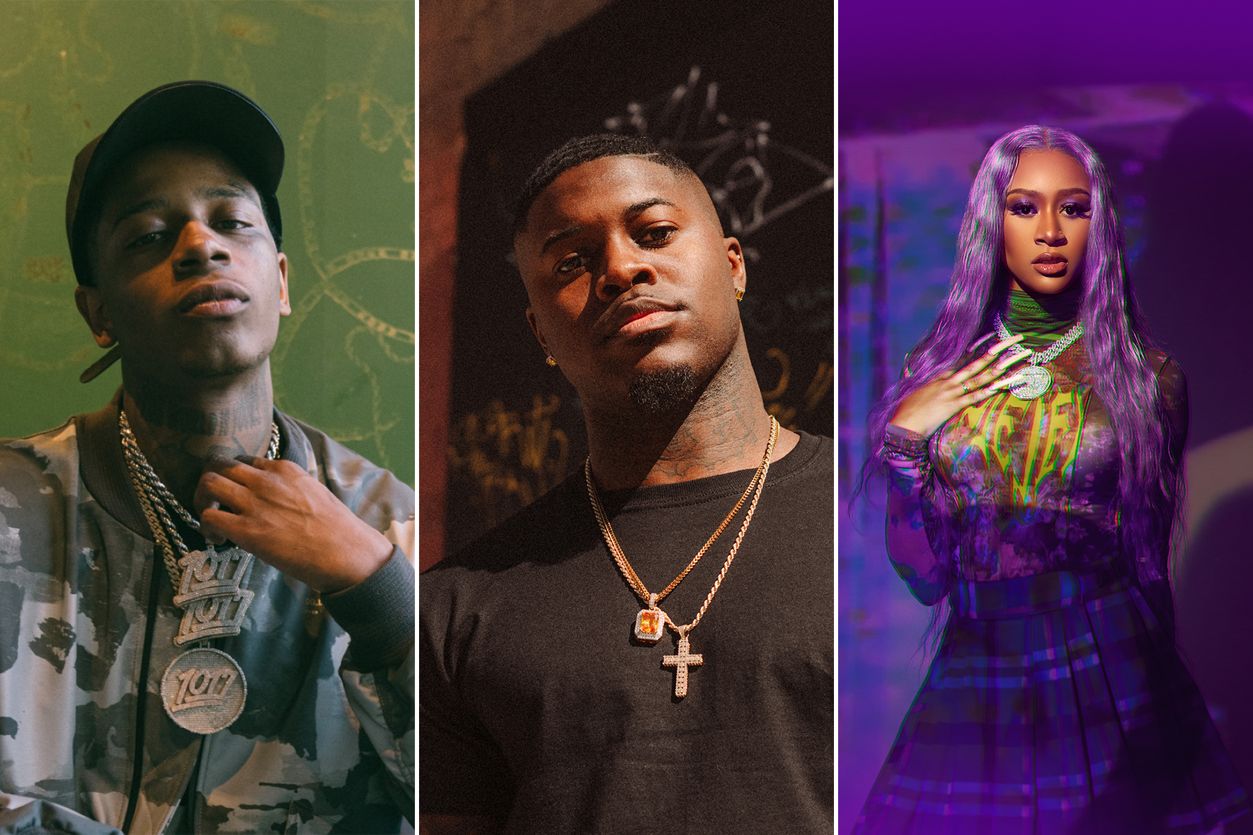 Big Scarr, Cico P and Lakeyah Lead Breakthrough 25 Chart