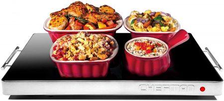 chefman electric warming tray