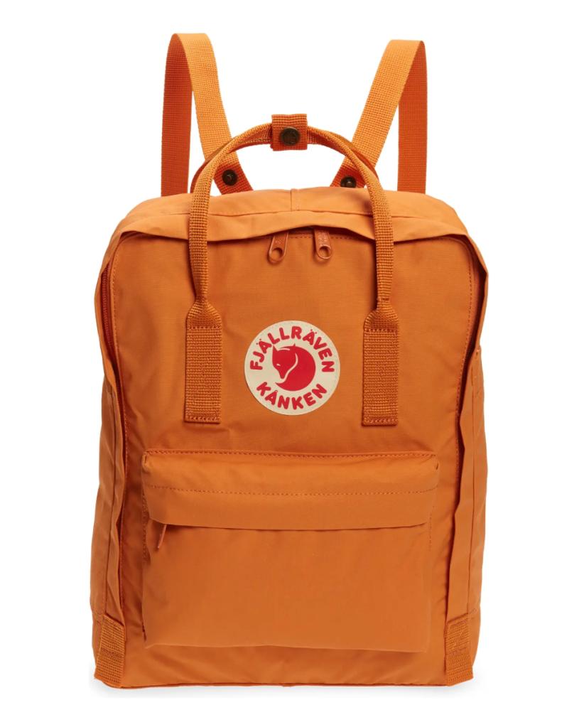fjallraven kanken water resistant backpack, best festival backpacks