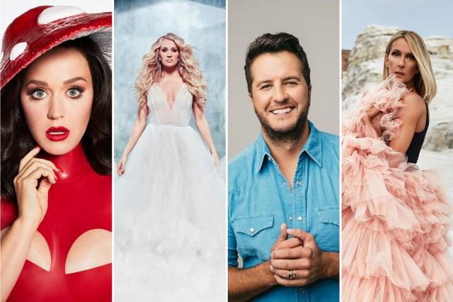 Celine Dion, Katy Perry, Carrie Underwood, Luke Bryan Plot Las Vegas Residencies.jpg