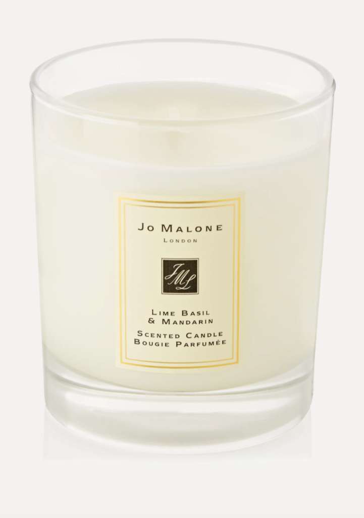 Jo Malone Lime Basil and Mandarin Candle, best smelling candles