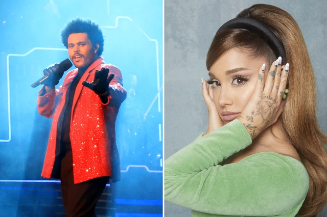RS Charts: The Weeknd's 'Save Your Tears' Surges Thanks to Ariana Grande Remix.jpg