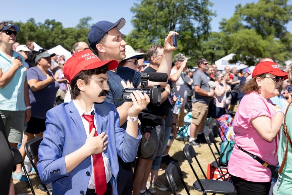 MAGA Frank Rally in New Richmond, Wis., on Saturday, June 12, 2021. Photo by Tim Gruber @ackermangruber