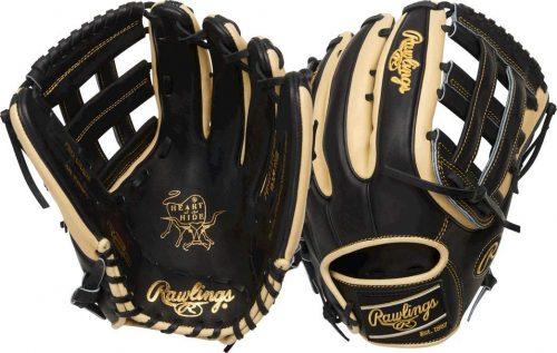 baseball glove rawlings hide