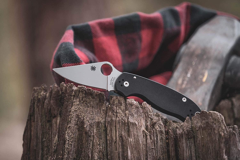 pocket knife spyderco
