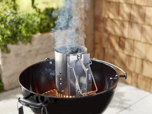 charcoal lighter chimney weber