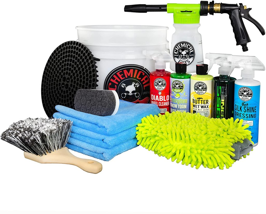 best car wash cleaning kit