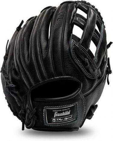 black baseball glove franklin