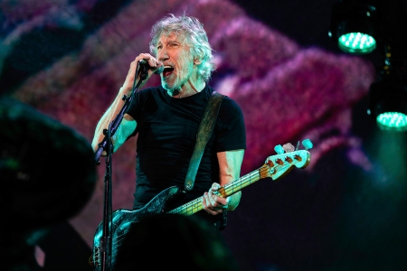 Roger Waters performs at Maracana during a tour in Brazil on October 24, 2018 in Rio de Janeiro, RJ. (Photo: Diego Baravelli/Fotoarena/Sipa USA)(Sipa via AP Images)