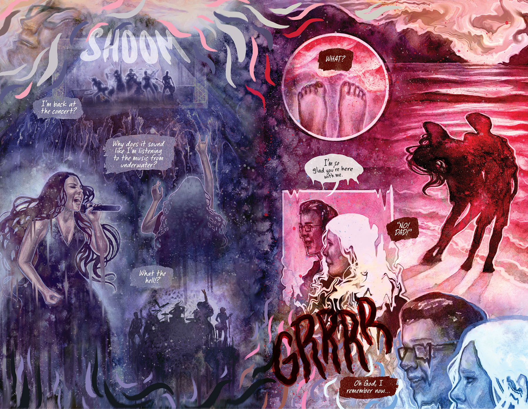 evanescence better without you graphic novel