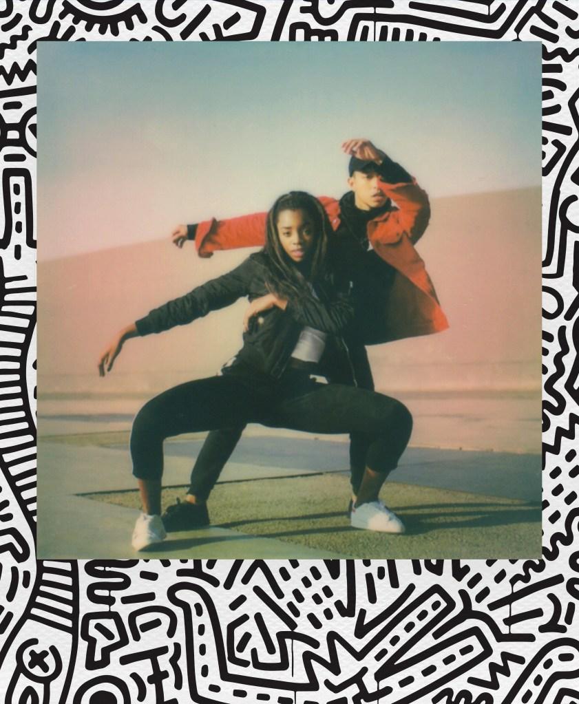 Keith Haring Polaroid Film