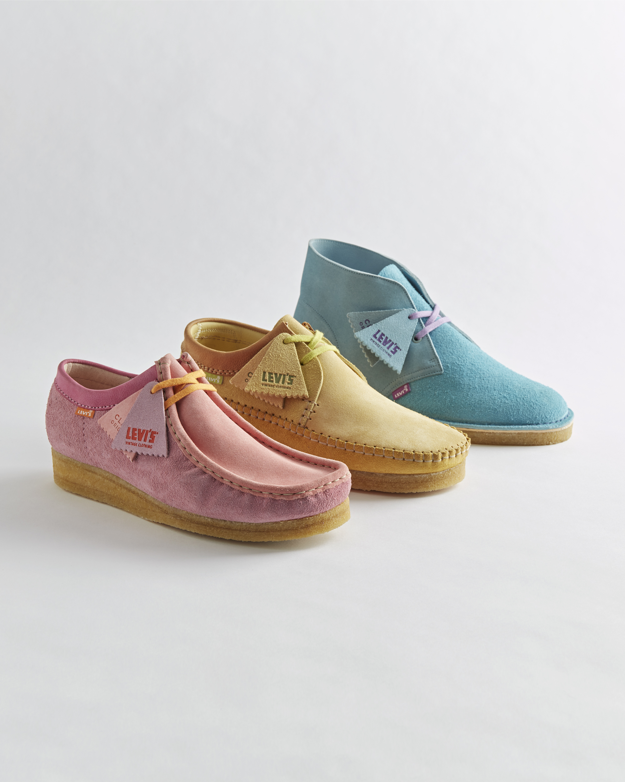 clarks shoes colorful