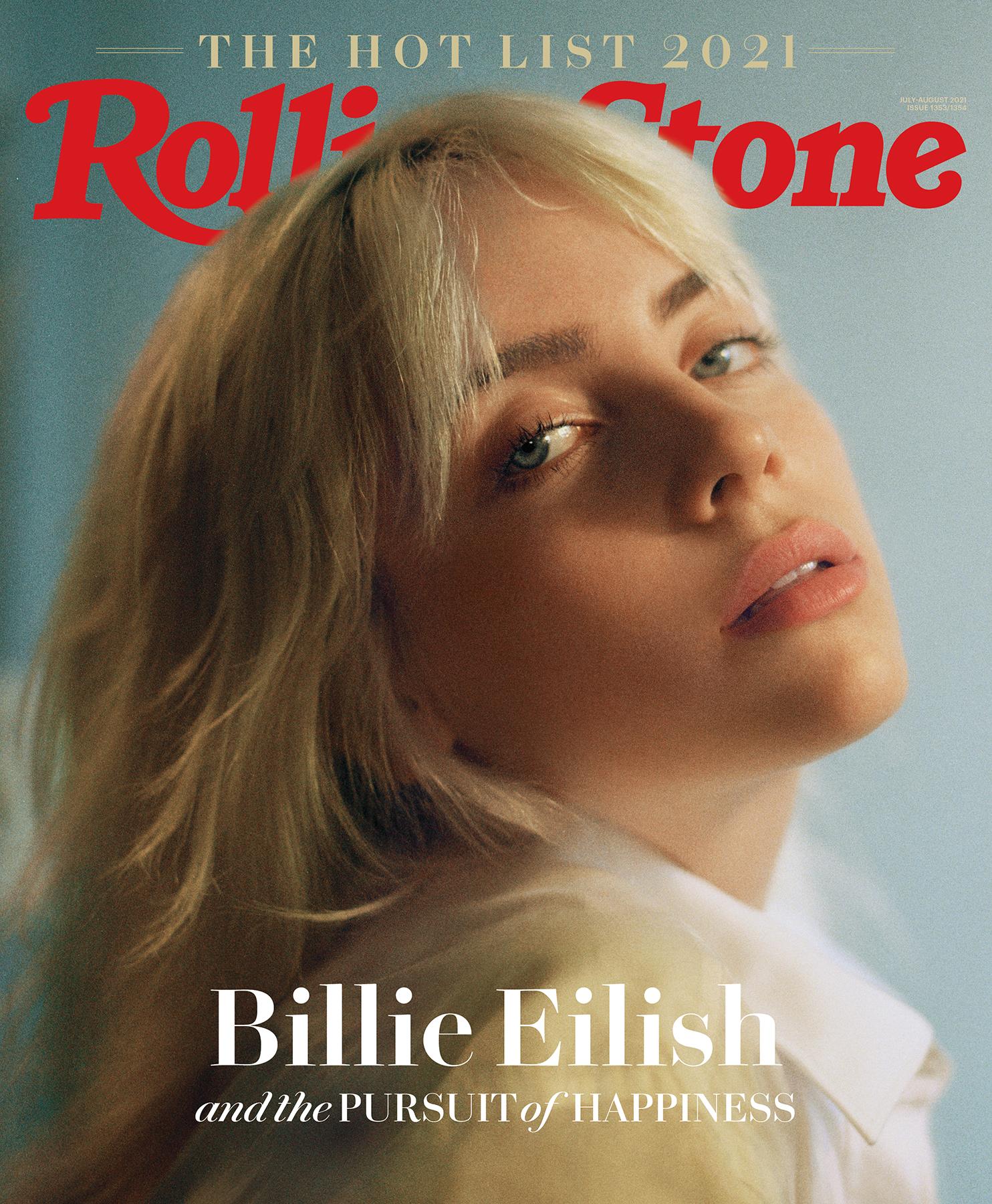 billie eilish rolling stone cover