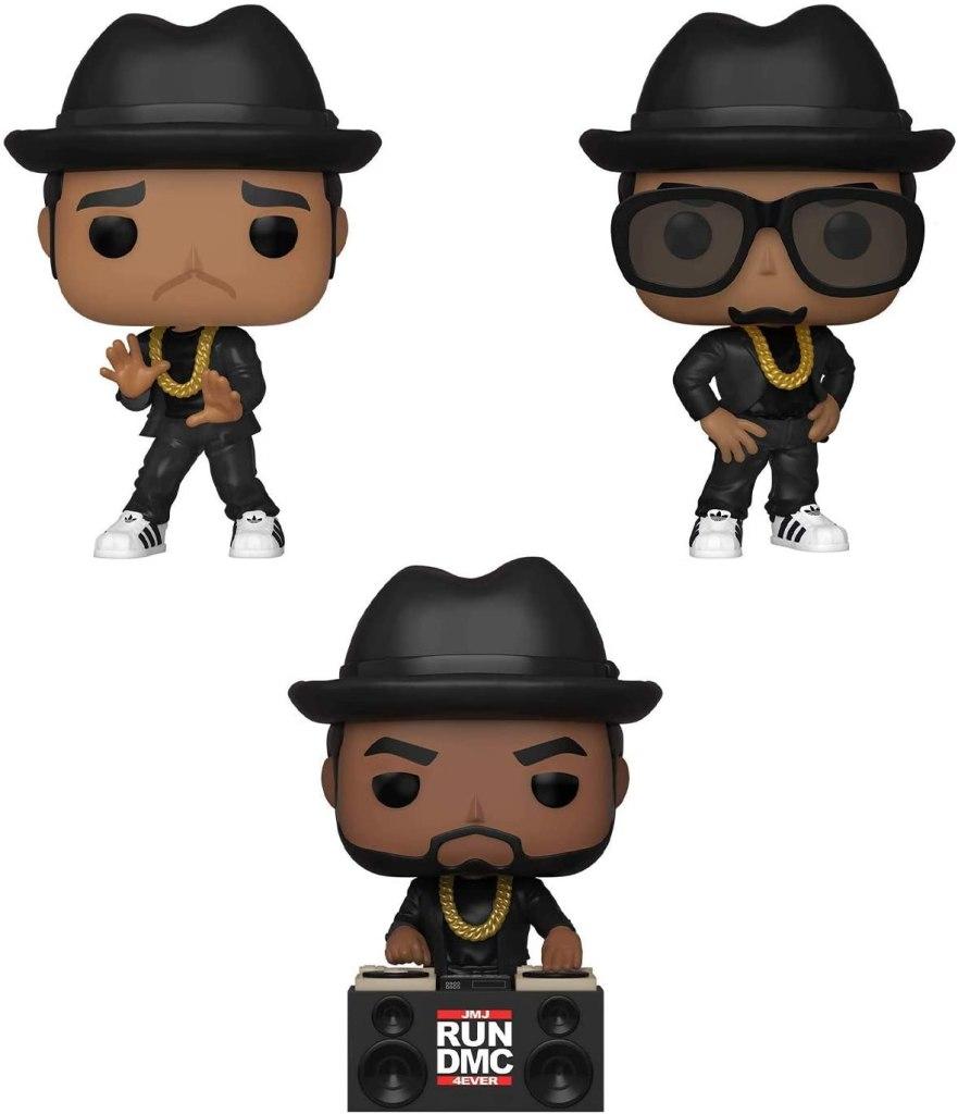 Run DMC Funko Pops