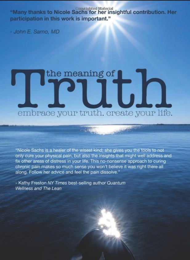 The Meaning of Truth by Nicole Sachs