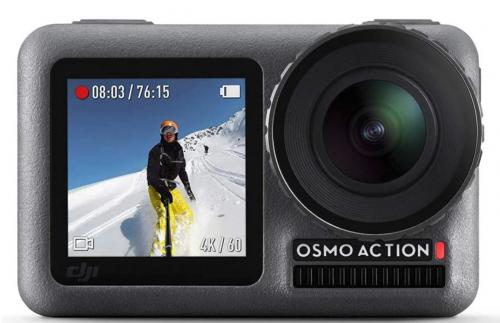 DJI Osmo Action - 4K 12MP Digital Camera with 2 Displays