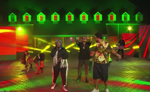 Sean Paul and Shaggy Join Spice for 'Go Down Deh' on 'Kimmel'.jpg
