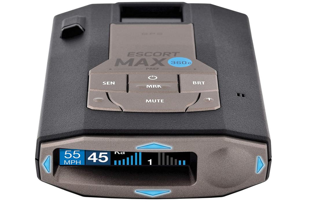 Escort MAX360C Laser Radar Detector