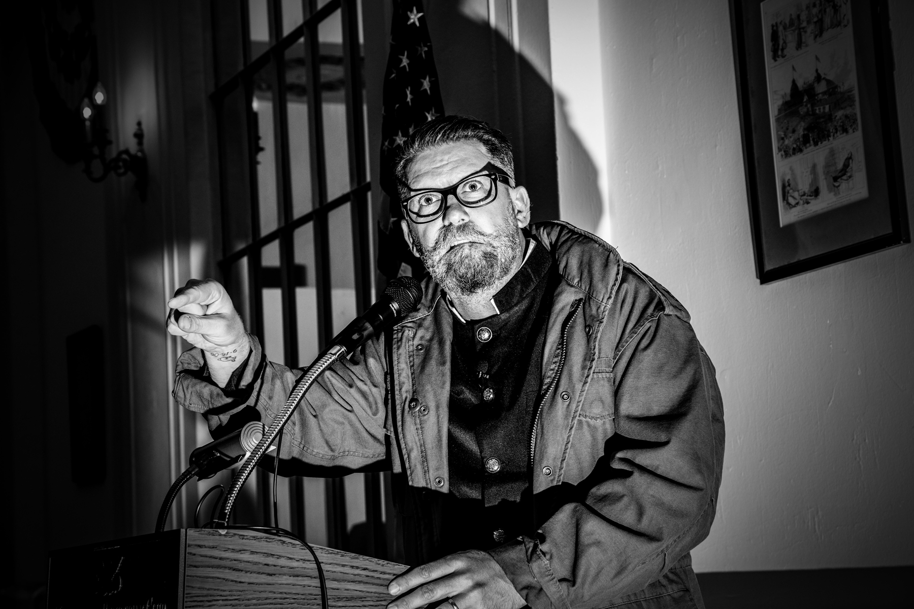 Metropolitan Republican Club of New York City invited Gavin McInnes, who founded a far-right group which regularly engages in street brawls and violence, to gave a lecture on Friday evening, October 13, 2018 in NYC, where he will