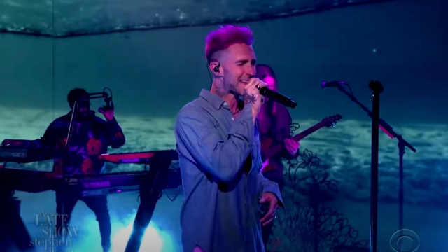 See Maroon 5 Bring 'Lost' on 'Late Show'.jpg