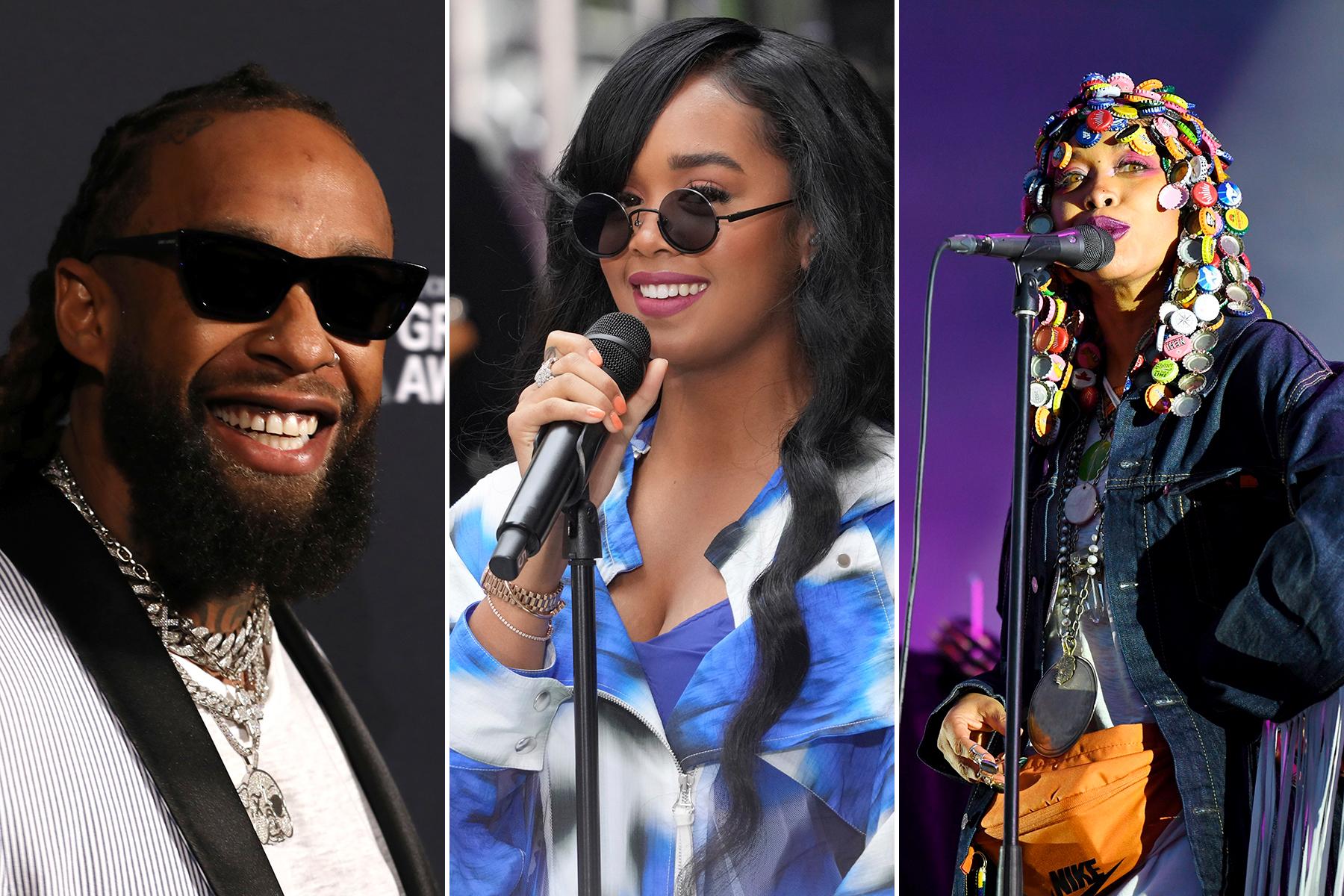 Ty Dolla $ign, Erykah Badu Join Lineup for H.E.R.'s Lights On Festival
