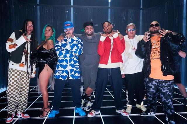 J Balvin, Karol G and Nicky Jam Drop 'Poblado' Remix.jpg