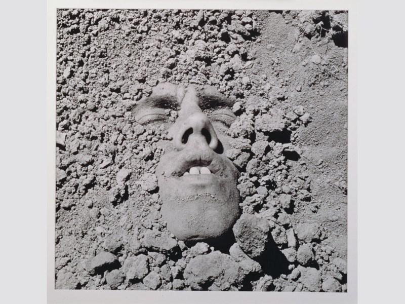 David Wojnarowicz, Untitled (Face in Dirt), 1991. © Estate of David Wojnarowicz. Courtesy of the Estate and P.P.O.W