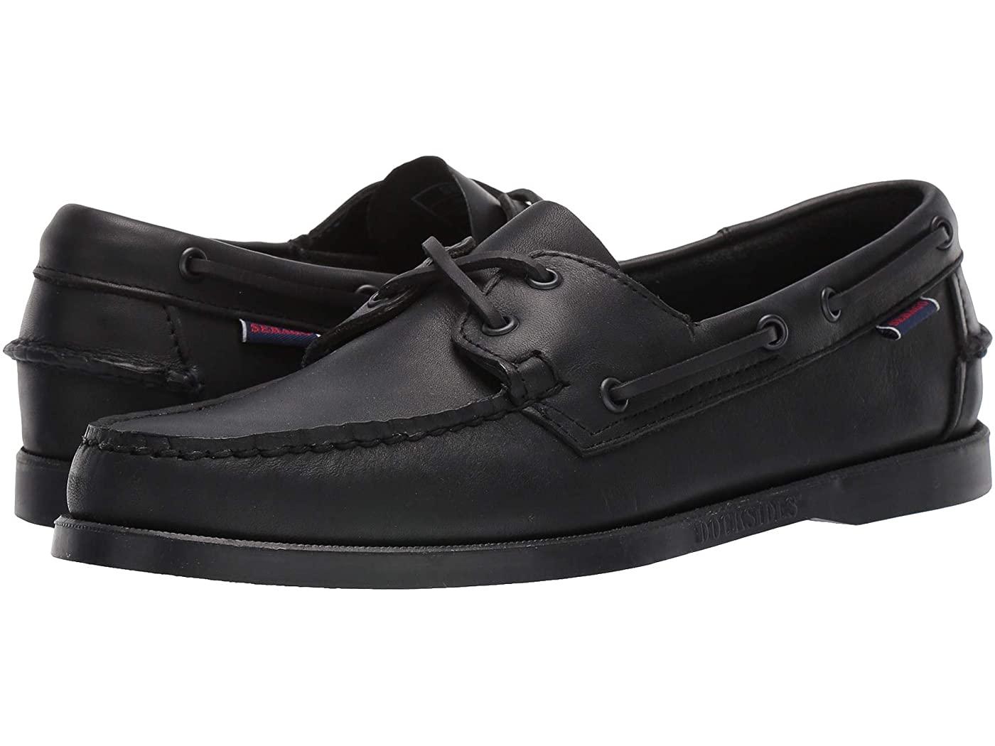 black boat shoes sebago