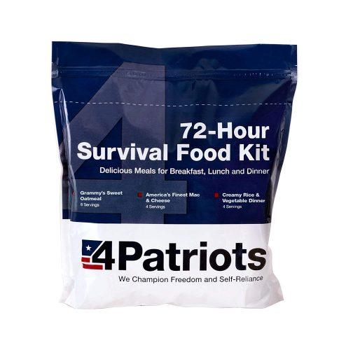 survival food kit patriots