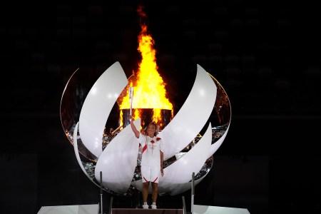 tokyo olympics opening ceremony photos