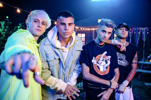 CNCO Releases 'To'a la Noche,' Their First Song as a Foursome.jpg