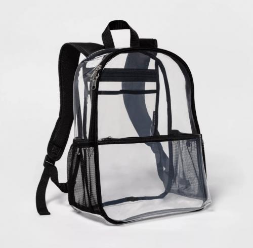 Target Embark Clear Backpack