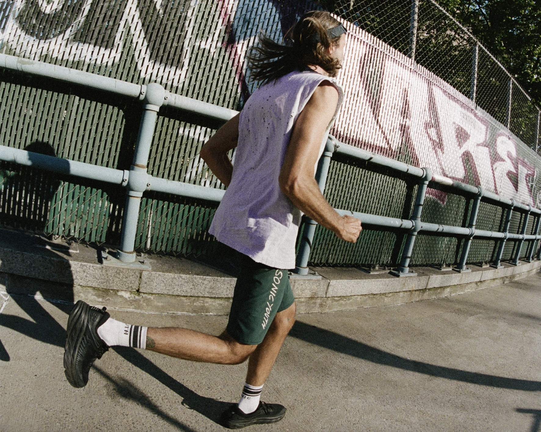 vintage running clothing satisfy