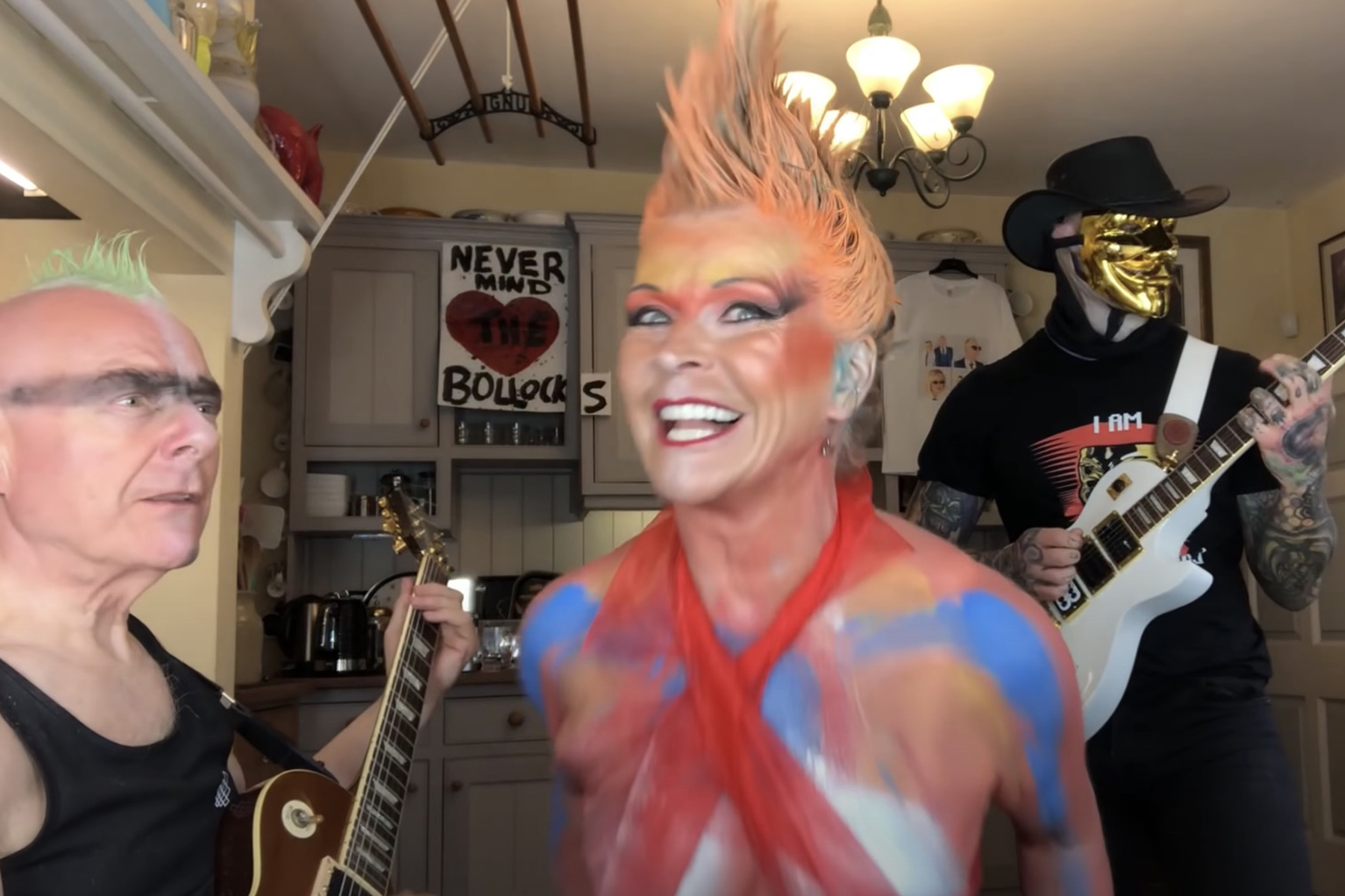 Robert Fripp, Toyah Willcox Cover Sex Pistols' 'Pretty Vacant' for Cover Series