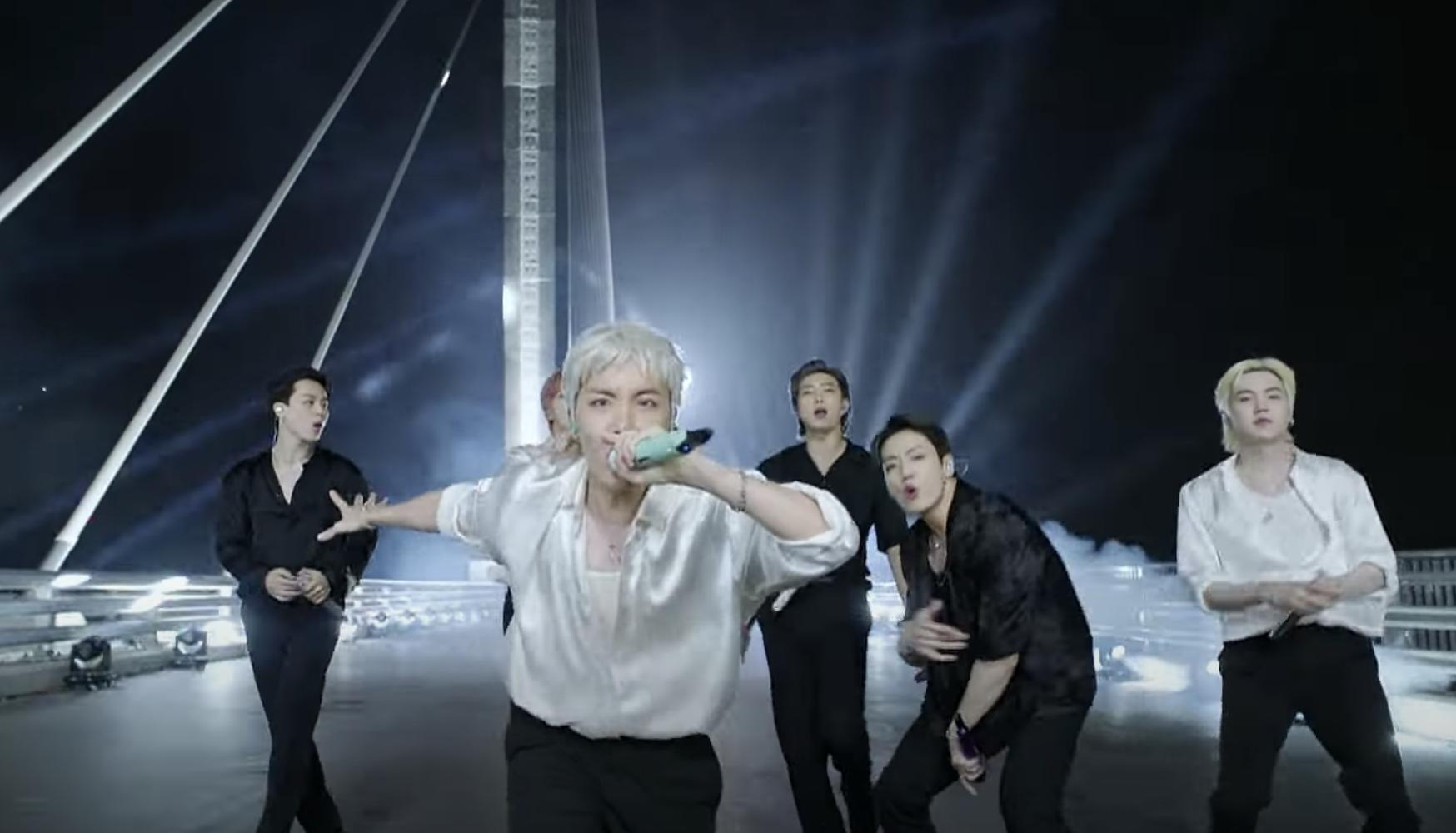 Watch BTS Perform Hit Single 'Butter' From a Bridge on 'Fallon'